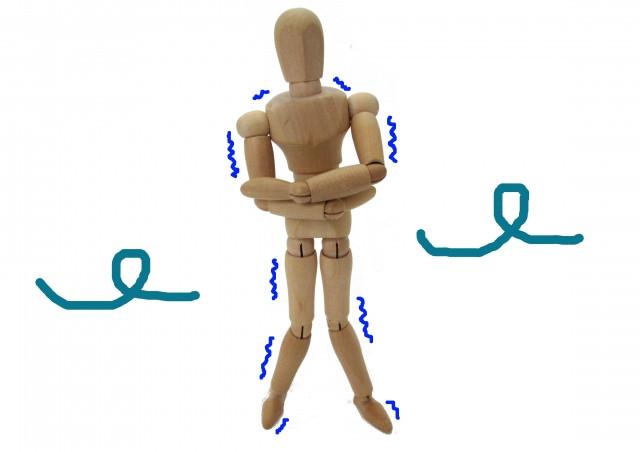 足のむくみの原因は冷えにも関係がある